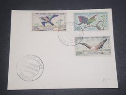 CENTRAFRICAINE - Enveloppe FDC  En 1960 , Oiseaux - L 12184 - Central African Republic