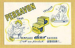 BUVARD :Remplace Deux Savon  PERSAVON - Perfume & Beauty