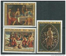 MALI  P. A.  N° 236 / 38 XX  Pâques : Tableaux Religieux, Les 3 Valeurs Sans Charnière, TB - Mali (1959-...)
