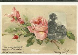 Fleurs Roses Illustrateur Klein - Bloemen