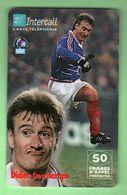 TELECARTE PREPAYEE *** INTERCALL N°429 *** 50F *** Foot Coupe Du Monde 98 *** Tirage ? Ex *** (A220-P1) - France