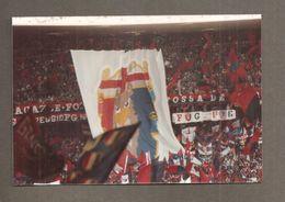 ITALIA PARTITA CALCIO 1988 STADIO TIFOSI GENOA STRISCIONI BANDIERE BANDIERINE - Fotografia - Sports