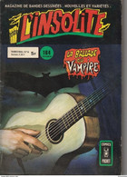 L'INSOLITE N° 16 Comics Pocket 1980 Poids 110 Gr - Insolite, L'