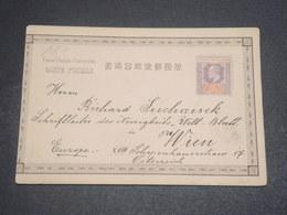 STRAITS & SETTLEMENTS - Carte Pour L 'Autriche , Illustration Au Verso à Voir Absolument ( Anti Japonais) - L 12199 - Straits Settlements