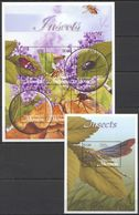 S782 MICRONESIA FLORA & FAUNA INSECTS 1KB+1BL MNH - Insects