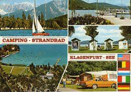 Sports > Sailing. Camping Strandbad.- Karnten Austria.car - Opel - Sailing