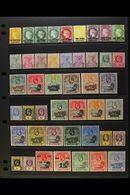 1868-1949 MINT COLLECTION We See QV 5s Wmk Crown CC, 1884-94 Wmk Crown CA Values To 1s, 1890-7 QV Set, 1902 ½d & 1d, 190 - Saint Helena Island