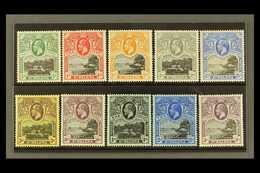 1912-16 Complete Set, SG 72/81, Fine Hinged Mint, Fresh (10 Stamps) For More Images, Please Visit Http://www.sandafayre. - Saint Helena Island
