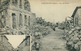 02 CHAVIGNON / Rue Des Ecoles / - Andere Gemeenten