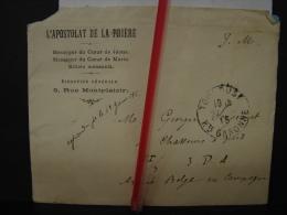 Mil. Let. 16. Lettre Du Père Calot à Un Poilu En 1915. Apostolat De La Prière à Toulouse - Oorlog 1914-18