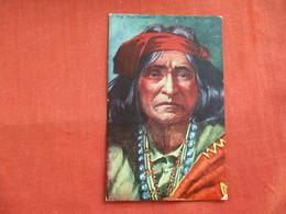 Chief Thunderbird  -ref 2808 - Indiani Dell'America Del Nord