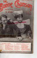 BRETAGNE- LA BONNE CHANSON-THEODORE BOTREL- REVUE LITTERAIRE MUSICALE-BOURBONNAIS MOULINS-FUME TA PIPE-AIGUILLE-N ° 49 - Bretagne