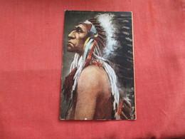 Chief Black Bird -ref 2808 - Indiani Dell'America Del Nord
