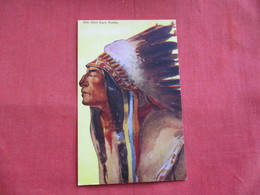 Chief Eagle Feather -ref 2808 - Indiani Dell'America Del Nord