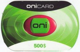 PORTUGAL A-852 Prepaid OniCard - Used - Portugal