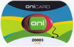 PORTUGAL A-854 Prepaid OniCard - Used - Portugal