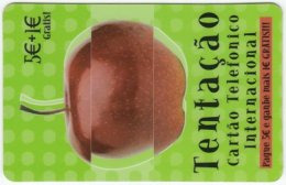 PORTUGAL A-856 Prepaid IDT - Plant, Fruit, Apple - Used - Portugal