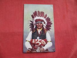 Chief White Swan  --  ---  --.ref 2808 - Native Americans