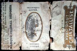 Austria,PAPER OF CIGARETTES, #1916,Viennois,G.. - Cigarette Holders
