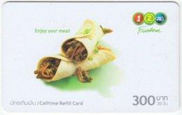 THAILAND D-303 Prepaid 1-2-call/AIS - Food, Traditional Meal - Used - Thailand
