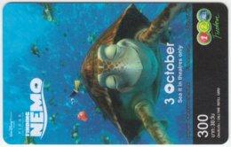 THAILAND D-322 Prepaid 1-2-call/AIS - Cinema, Finding Nemo - Used - Thailand