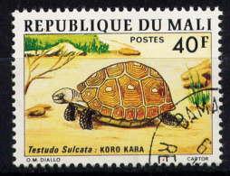 MALI - 254° - TESTUDO SULCATA - Mali (1959-...)