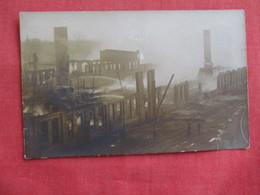 RPPC Fire To ID Location ---- -.ref 2808 - Postcards
