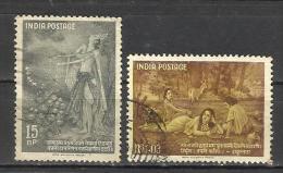 INDIA, 1960, Kalidasa, Poet And Dramatist, Yaksha, Shakuntala, Dushyantaa, Set 2 V, FINE USED - India