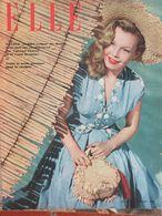 ELLE N°189 (11 Juil 1949) Cécile Aubry - Mode Pratique - Fashion