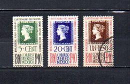 México   1940  .-   Y&T Nº   96-98/99     Aéreos - Mexico