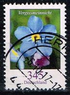 Bund 2017, Michel# 3324 O Blumen: Vergissmeinicht - [7] Federal Republic