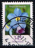 Bund 2017, Michel# 3324 O Blumen: Vergissmeinicht - [7] République Fédérale