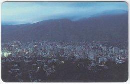 VENEZUELA A-329 Chip CanTV - View, Town, Caracas - Used - Venezuela