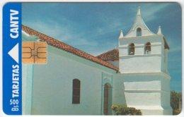 VENEZUELA A-333 Chip CanTV - Culture, Church - Used - Venezuela