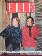 ELLE N°209 (28 Nov 1949) Les âges De La Vie Féminine - Les Cartes - Capes - Fashion