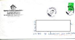 Lettre Cachet Saint Sever - Marcophilie (Lettres)