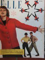 ELLE N°208 (21 Nov 1949) Tweed - Collection De Ski - La Doublure - Fashion