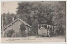 CPA Forêt De La Courbe - Terminus De Ligne Du Tram Forestier Au Galon D' Or - Non Classés