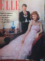 ELLE N°203 (17 Oct 1949) En Rouge - Nouvelle Robe - Clautrophobie - S Mangano - Fashion