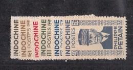 Indochine N 243 à 248** - Unused Stamps