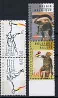 Belgie OCB 3052 / 3055 (**) - Unused Stamps