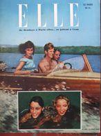 ELLE N°194 (15 Août 1949) Chapeaux D'automne - Monique Berlioux-ELLE/Cote Basque - Fashion