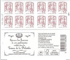 CARNET 12TP CIAPPA - TVP LP -  TRESORS DE LA PHILATELIE - DATE DU 24 06 17 - NEUF - NON PLIE - Usage Courant