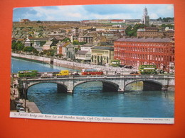 "St.Patrick""s Bridge Over River Lee And Shandon Steeple,Cork City.BUS - Cork"