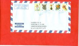 Saudi Arabia 2012.Envelope Passed The Mail. Flovers. - Saudi Arabia