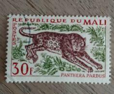 MALI 1965 YT 74 Panthère Animal   Oblitéré - Mali (1959-...)