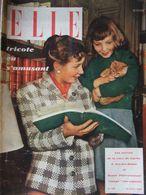 ELLE N°196 (29 Août 1949) Chandails Dernier Cri - Tricots De Classe - - Fashion
