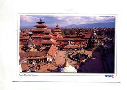 Carte Patan Durbar Square Cachet Sur Musee - Nepal