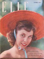 ELLE N°187 (27 Juin 1949) C. Dior - Maillots De Bain - Canotier - Fashion