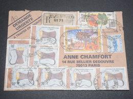 BÉNIN - Enveloppe En Recommandé De Cotonou Pour Paris En 1988 , Affranchissement Multiple Plaisant - L 12221 - Bénin – Dahomey (1960-...)